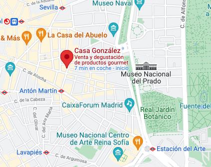 Localización Casa González